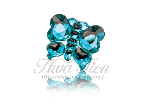 Hwa Tien Butterfly Shape Rhinestone, Make Your Design Real